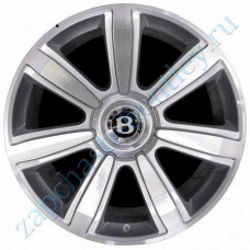 "7-spoke 21"" light alloy set of wheels (the red icon) (3w0601025crsetr)"