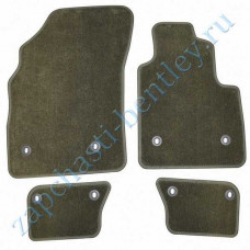 Set of floor mats - Laurel (for RHD cars) (3w2863691k8az) - interior decoration (rugs and mats) - 2004 | bentley bentley Continental GT Speed, Bentley Continental GT and flying spur Speedc