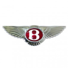 The winged symbol of the bentley grille (ps111961pau)