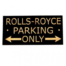 Rolls-Royce road sign (small/large)