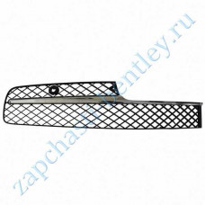 Right front bumper Reset (flying spur in 2014, with a slab of black mesh) (4w0807648hu)