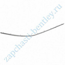 Right rear bumper molding, chrome (flying spur 2009) (3w5807812f)