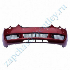 Front bumper (up to 2008 Bentley continental GT speed and Bentley continental GT Speedc models - except North America) (3w8807217asu)