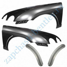 Wing Vented, jar HR grid, set (Bentley continental GT speed and Bentley continental GT 2004-2011 Speedc) (rh40111)