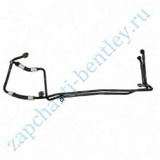 Pipe transmission oil cooler Assembly rh (Bentley Continental GT Speed and flying spur 2004-2006) (3w0317801j)