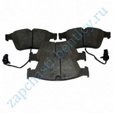 Front brake pads (aftermarket) (3w0698151pp)