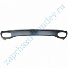 Lower rear spoiler (Bentley continental GT speed and Bentley continental GT Speed convertible until 2011 - only for high - speed models-all rank) (3w8807521du)