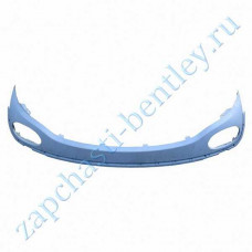 Lower rear spoiler (Bentley continental GT speed and Bentley continental GT Speedc until 2011 - only for high - speed models-all rank) (3w8807521cu)