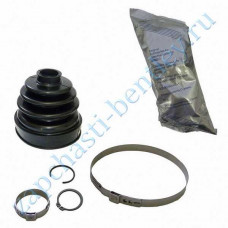 Front inner boot (set) (3 coil - inner rubber bellows) (Bentley Continental GT Speed, Bentley Continental GT Speedc & flying spur) (3w0498201p)