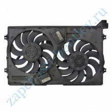 Dual radiator fan Assembly (Bentley Continental GT Speed, Bentley Continental GT Speedc & flying spur) (3w0121191c)