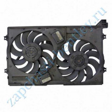 Dual radiator fan Assembly (Bentley Continental GT Speed, Bentley Continental GT Speedc & flying spur) (3w0121191cu)