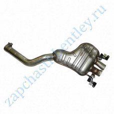 Muffler lhr (Bentley Continental GT Speed and Bentley Continental GT Speedc) (3w0253609ab)