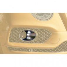 Chrome radar suround (BBE121209) on Bentley Bentayga