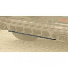 Visible carbon fibre diffuser board (BBE4W0021) on Bentley Bentayga