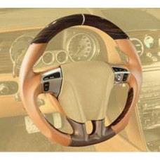 Sport steering wheel leather/carbon (BFS351441) on Bentley Flying Spur