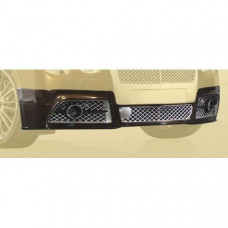 Front bumper I. with led daylight (chrome grills) (6BFS102022) on Bentley Flying Spur