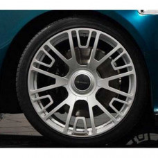 Wheel V6 (silver diamond cut) (RRB010227S) on Bentley Flying Spur