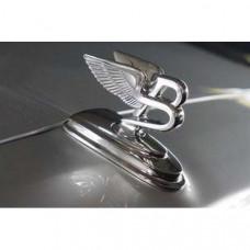 """Flying """"B"""" sculpture (BFS00BOEM) on Bentley Flying Spur"""