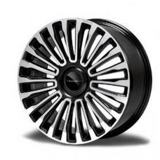 Multispoke 22 inch wheel Diamond silver (M112242S) on Bentley Continental