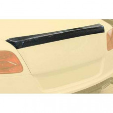 Rear decklid spoiler ii for GTC carbon (555830851) on Bentley Continental