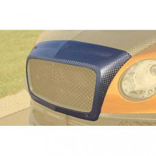 Front grill mask race visible carbon fibre primed (508102371) on Bentley Continental 2016 year