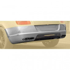 Rear bumper I + diffuser with integrated OEM brake light (505802021) on Bentley Continental