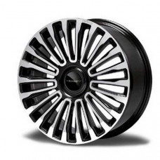 Multispoke 22 inch wheel Diamond black (M112242B) on Bentley Continental