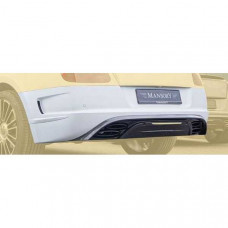 Rear bumper II + diffuser with integrated OEM brake light (505802031) on Bentley Continental