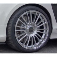M10 wheel 22 inch ( Silver diamond cut ) (M11122210) on Bentley Continental