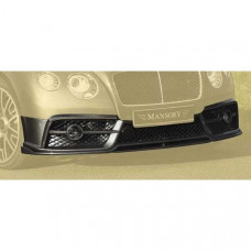 Front bumper + front lip (505802082) on Bentley Continental