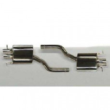 Sport Exhaust System with remote control V8 (630255465) on Bentley Continental