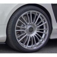 M10 wheel 22 inch (Silver diamond cut) (M11122210) on Bentley Continental 2016 year
