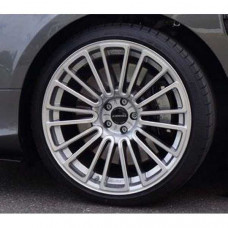 "M10 wheel 21 inch (Silver diamond cut) 1pc., 10.5 x 21"" OS 30 Silver / fr. Polished (8808210S30) on Bentley Continental"