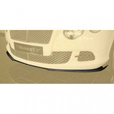 Front add on lip OEM (505102841) on Bentley Continental