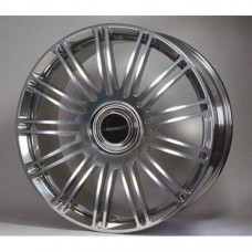 13 spoke wheel aluminium casted 22 inch polished (M31122210) on Bentley Continental