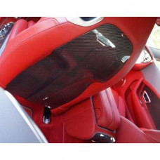 Wood cover seat rear panel (505393751) on Bentley Continental