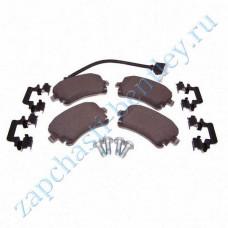 Set rear brake pads (3w0698451j)
